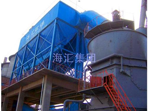 日照中联200万吨粉磨站除尘、输送项目--海汇牌脉冲袋式除尘器、带式输送机