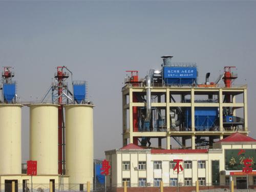 新疆喀什英吉沙粉磨站大型除尘项目