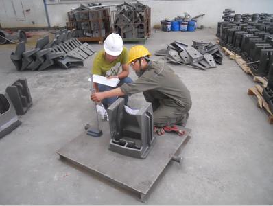海汇集团出口美国的30多吨铸件顺利检验完成并发货