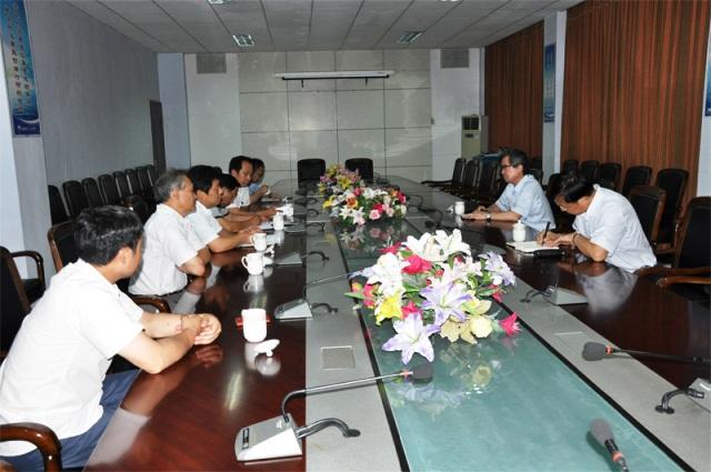 中国铸造协会领导来海汇集团考察调研