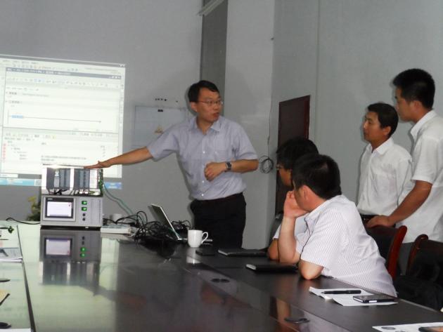 海汇集团设备管理中心组织西门子系列PLC专业知识学习培训
