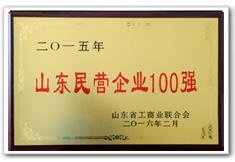 海汇集团为山东民营企业100强