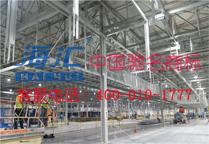 起亚墨西哥汽车总装厂房钢结构项目--钢结构