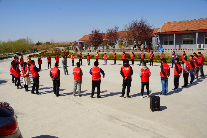 """海汇集团团委组织""""实干筑梦 青春担当""""青年素质拓展及红色教育学习活动"""