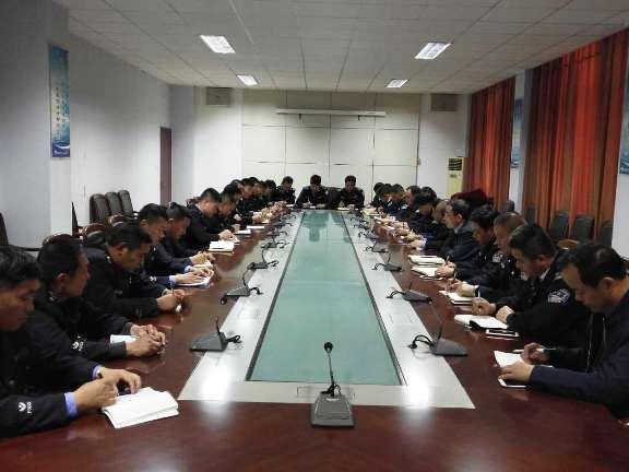 海汇集团护卫大队召开一季度工作总结会议