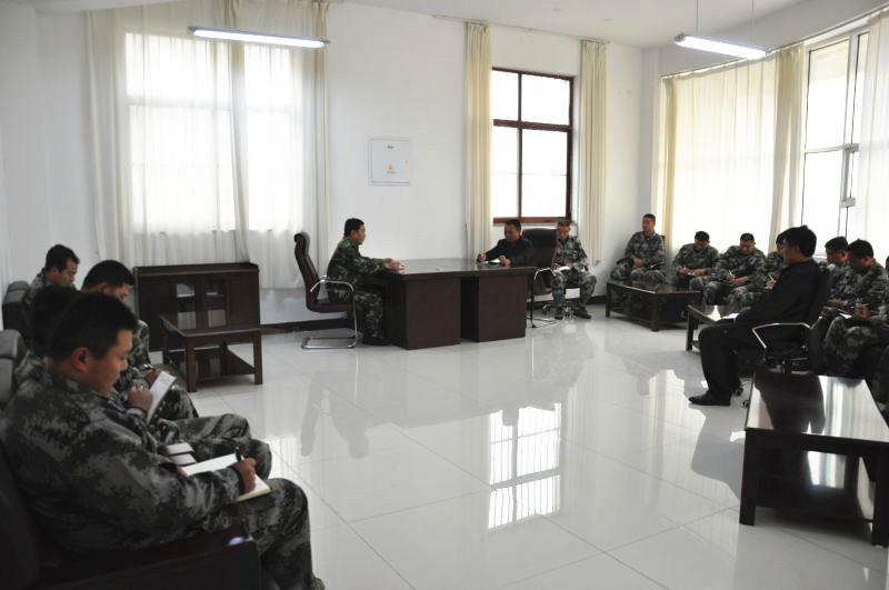 海汇集团护卫大队召开护卫工作会议
