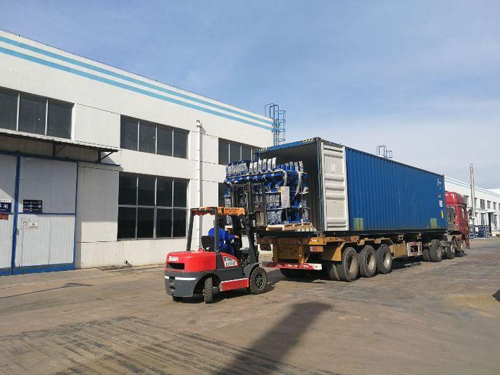 888真人官方网站带式输送机事业部承接的井下煤矿带式输送机出口项目顺利发货