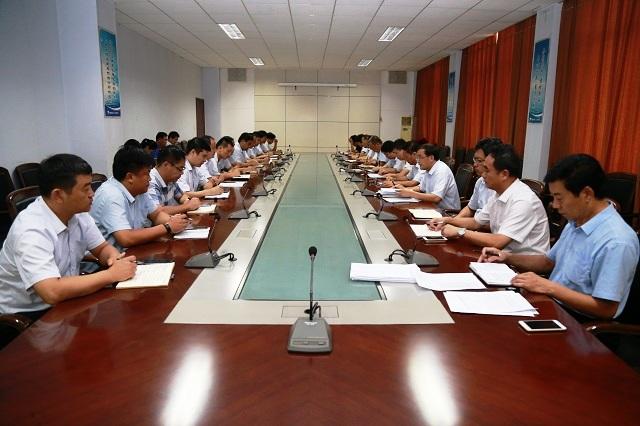 海汇集团党委召开党务工作会议 安排部署近期工作