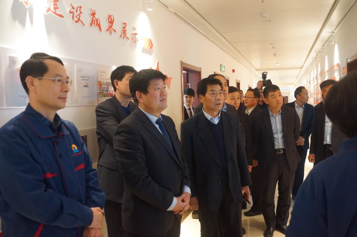 海汇集团党委组织基层党支部书记赴双星集团...