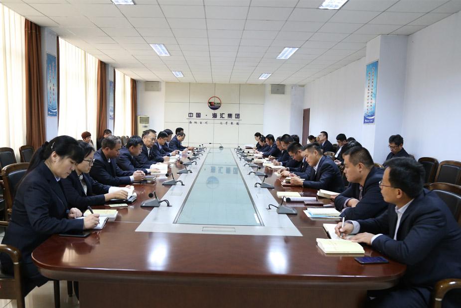 百乐博娱乐机关党支部召开全体党员会议